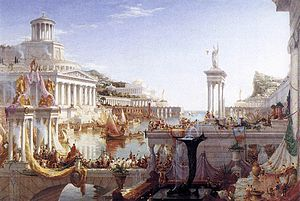 Thomas Cole - The Consummation of the Empire -...