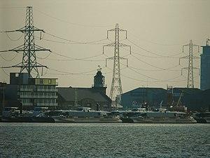 English: Trinity Buoy Wharf Until its decommis...