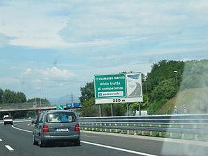 Italiano: Cambia Competenza tra Autovie Venete...