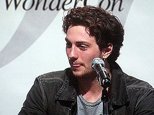 Actor Aaron Johnson participating in the Kick-...