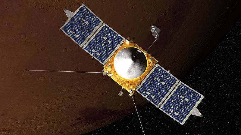 File:Artist concept of MAVEN spacecraft.jpg