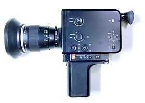 Braun Nizo 800 Super-8 film camera