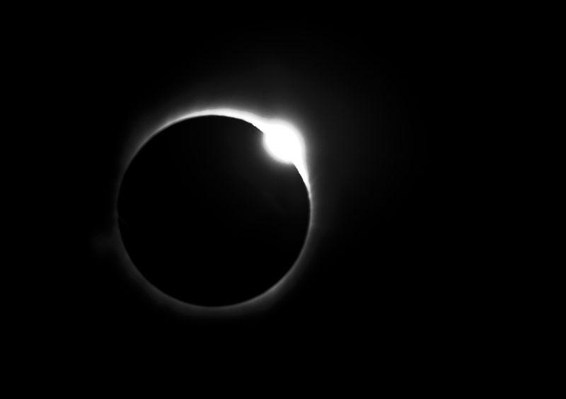 Diamond ring 22 July, 2009
