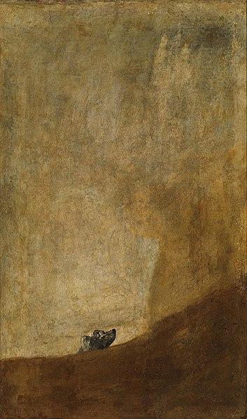 File:Goya Dog.jpg