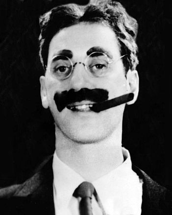"English: Julius Henry ""Groucho"" Marx..."