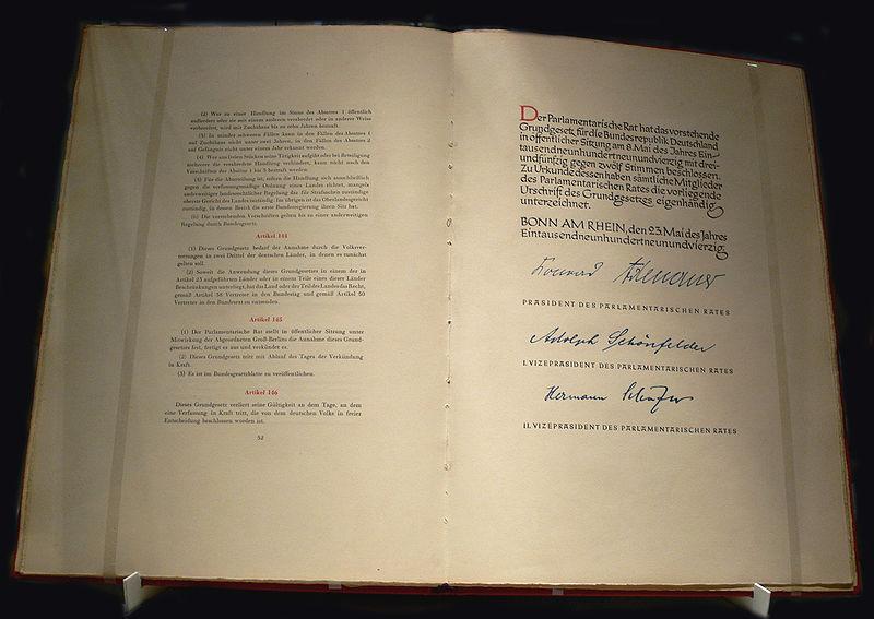 Grundgesetz 1949