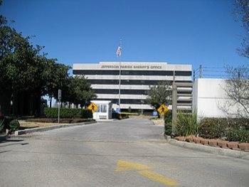 Harvey, Louisiana. Jefferson Parish Sheriff's ...