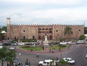 English: Cortés Palace in Cuernavaca, Mexico. ...