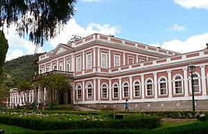 Museu Imperial in Petropolis, Brazil