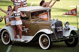 Ramblin' Wreck, a 1930 Ford Model A Sports Coupe