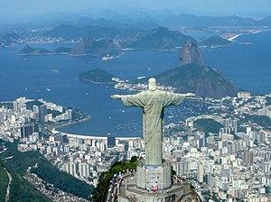 Panoram Cristo Redentor, Bahia de Guanabara, P...
