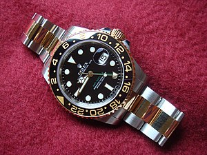 English: Rolex Oyster Perpetual GMT-Master II,...