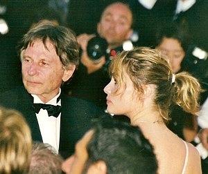 Français : Roman Polanski et Emmanuelle Seigne...