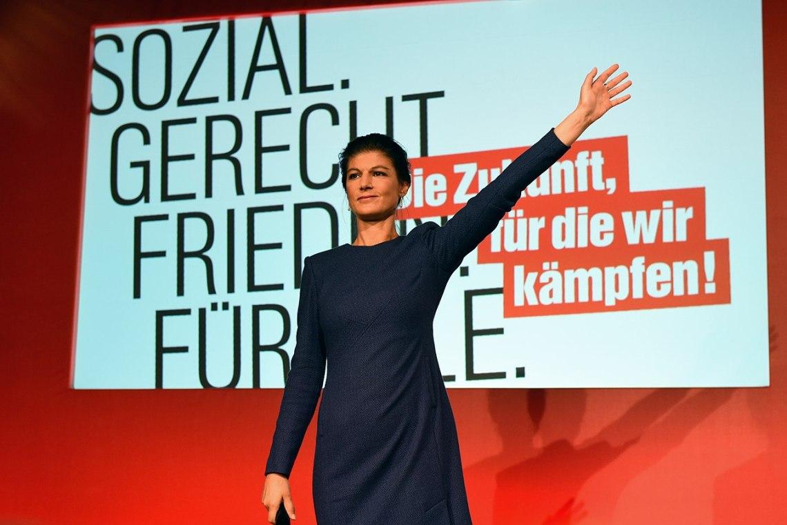 Sahra Wagenknecht Bei Der Bundestagswahl  Wahlabend Linke Martin Rulsch  Jpg