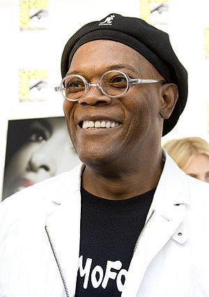 Samuel L. Jackson at the San Diego ComicCon 2008