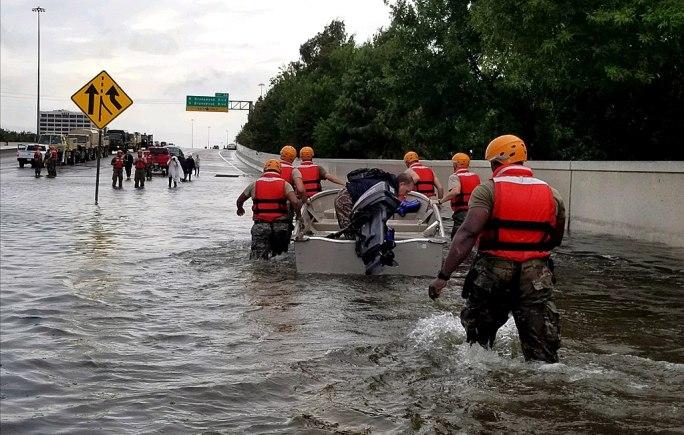 Texas Army National Guard Hurricane Harvey Response