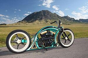 English: Thunderbike Open Mind - AMD World Cha...