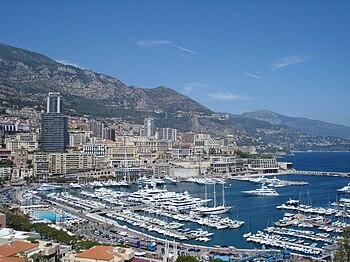 English: General view of Monaco