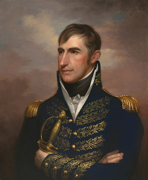 William Henry Harrison, White House portrait