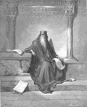 King Solomon in Old Age (1Kings 4:29-34)