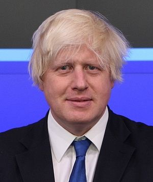 Mayor of London, Boris Johnson poses for a pho...