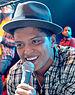 English: Bruno Mars performing in Las Vegas, N...