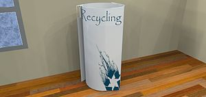 English: A recycle bin from the first collecti...