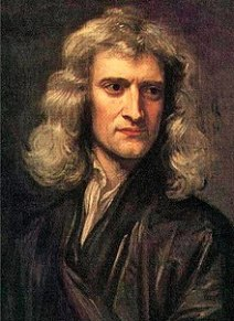 Portrait of man in black with shoulder-length, wavy brown hair, a large sharp nose, and a distracted gaze