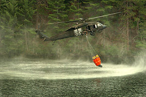 A Michigan Army National Guard UH-60 Black Haw...