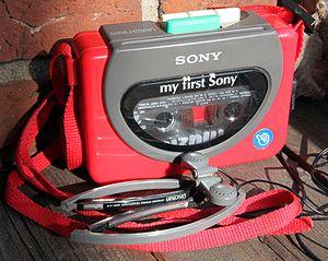 My first Sony Sony Walkman WM 3000 from 1990