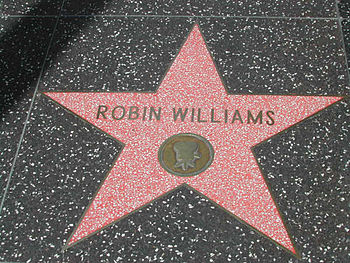 Robin Williams Walk of Fame