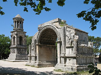 English: Saint-Rémy-de-Provence (France): Roma...