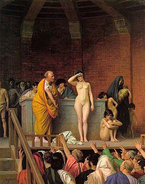 Slave Auction painting