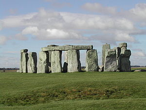 Stonehenge from the north east in 2006