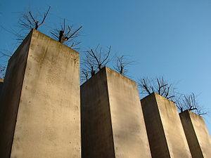 Jewish Museum Berlin, slabs.