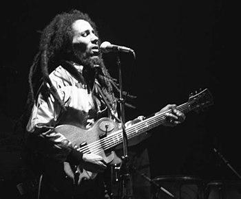 Bob Marley live in concert in Zurich, Switzerl...