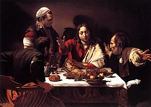 Michelangelo da Caravaggio, Supper at Emmaus; ...