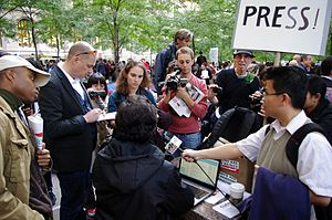 English: Photos from October 6, Day 21 of Occu...