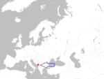 Europe map montenegro.png