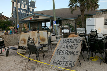 English: Apalachicola, Fla., July 20, 2005 -- ...