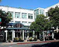 Facebook headquarters in downtown Palo Alto, California.