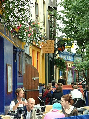 Galway Cafe. Galway City is truly a vibrant pl...