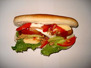 English: Hot Dog