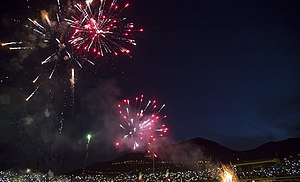 New Year   Wikipedia Iranian New Year s celebration in Sanandaj on date and time of March  equinox