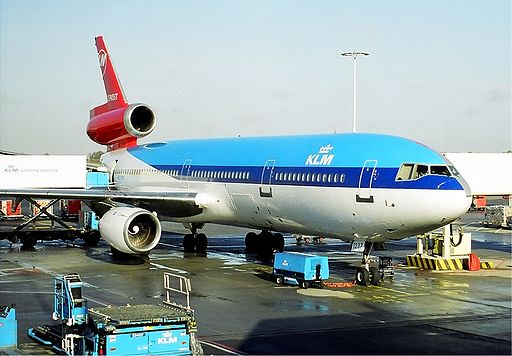 Northwest Airlines-KLM DC-10 hybrid livery Spijkers