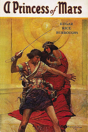English: Cover art by Frank E. Schoonover from...