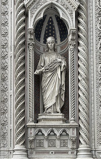 Statue of Saint Reparata, martyr, Patron of Fl...