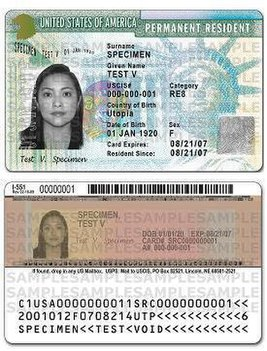 USA Green card costs