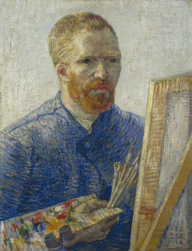 Vincent van Gogh - Zelfportret als schilder (1888)