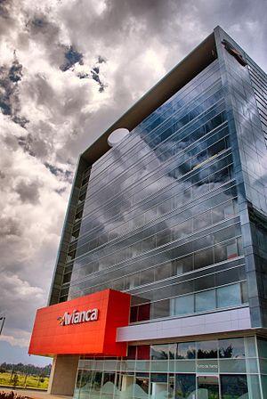 English: Avianca headquarters, Avenida El Dora...